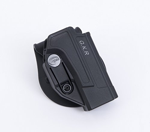 Orpaz HK - USP Professional Holster Polymer With 360 Rotation Paddle & Belt Adjustment Screw, Fit All H&K. by Orpaz