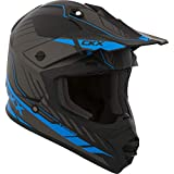 CKX Unisex-Adult's Fuel TX228 Off-Road Helmet (Matte Blue, Medium)