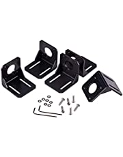 INCREWAY 5pcs 42mm Nema 17 Stepper Motor Mounting Bracket with M3 Mounting Screws Washers and 2pcs L-Shaped Allen Wrench for CNC/3D Printer