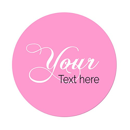 Die Cut Personalized Vinyl Stickers Custom Made Any Name, Your Text or Logo Here, 45 Pack, Short Run, for Presents, Gifts, Favors, Boxes, Promotional