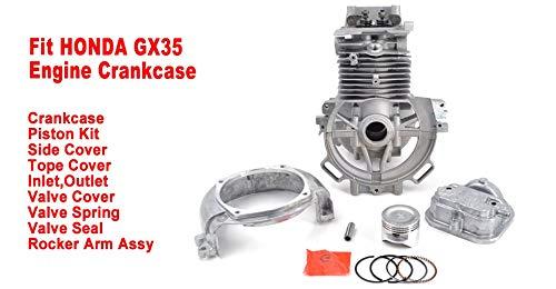 GX35 Desbrozadora Motor Cárter UMK435T Cilindro cortador de ...