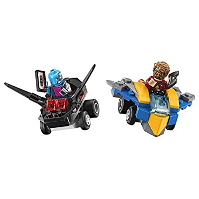 LEGO Marvel Super Heroes Mighty Micros: Star-Lord vs. Nebula 76090 Building Kit (86 Piece): Toys & Games