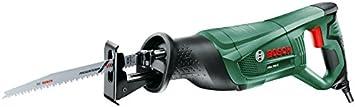 Bosch PSA 700 E - Sierra sable eléctrica (710 W, hoja de sierra de madera S 2345 X, sistema SDS y empuñadura antivibraciones SoftGrip, en caja de cartón)