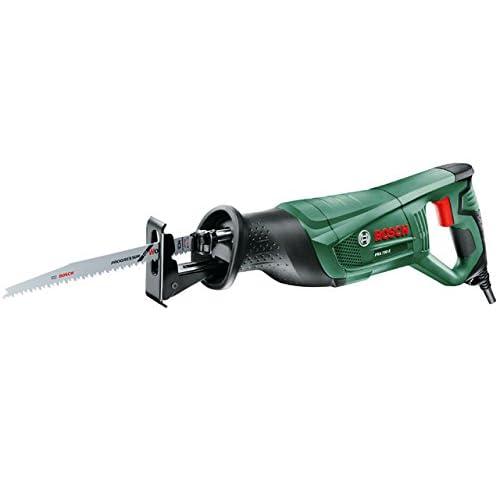 """Bosch Scie sabre """"Easy"""" PSA 700 E avec 1 lame de scie pour bois 06033A7000"""