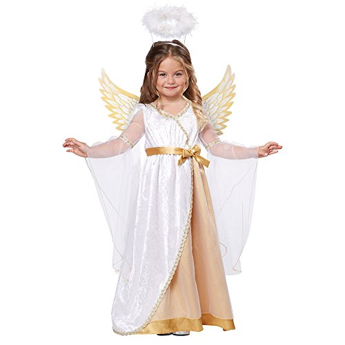 [California Costumes Sweet Little Angel Toddler Costume, Size 4-6] (Childrens Angel Costumes)