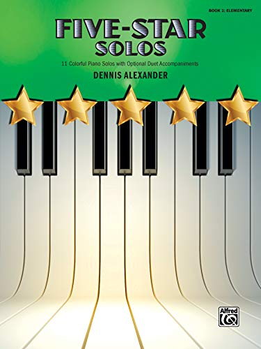 Five-Star Solos, Bk 2: 11 Colorful Songs for Elementary Pianists