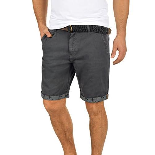 38c01c8fb De bajo costo Indicode Inka Chino Pantalón Corto Bermuda Pantalones De Tela  Para Hombre Con Cinturón