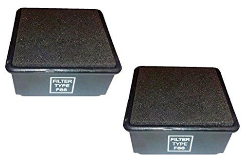 Best Vacuum Filter 2 Compatible with Dirt Devil F66 HEPA Fil