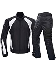 Motocross Suits Jacket Pants Moto Jacket Protective Gear Armor Men Motorcycle Clothing