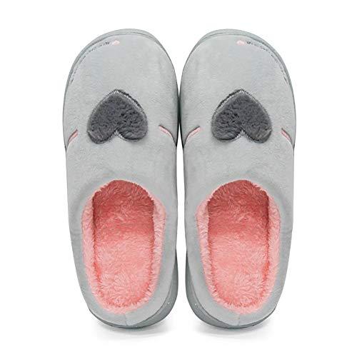 Artico Memory Cotone di DYTTO Ricamo Foam Velluto Pantofole d'Amore wY7T0BHq