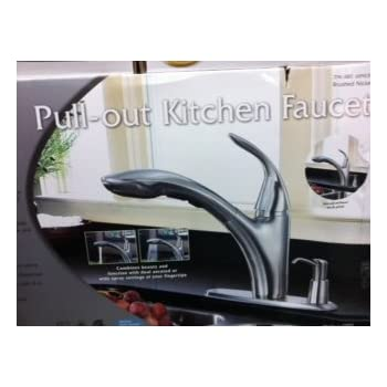 Water Ridge Pull Out Kitchen Faucet - - Amazon.com