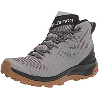 Salomon Men's Outline Mid GTX Hiking Shoe Men Trail Running Shoes