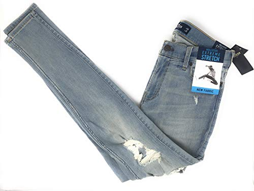 Hollister. Epic Flex and Stretch. (Light Blue Supper Skinny, 34-32) from Hollister.