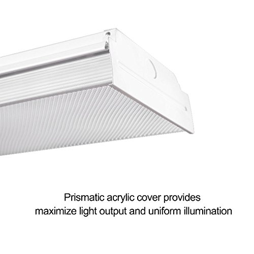 AntLux 4 ft. Neutral white LED has some great features to make it become one of the best LED Garage Light