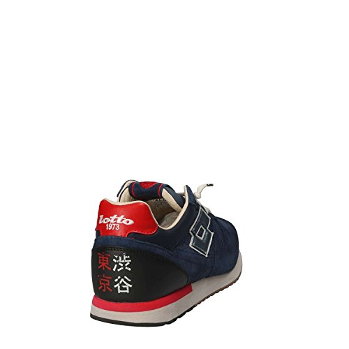Tokio Shibuya Lotto Uomo Nuovo T4584 Leggenda Sneakers Blu nHTTWXI