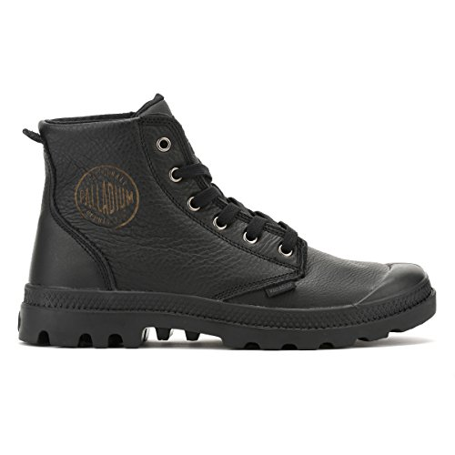 Pampa Hi Leat Palladium Mixte U Baskets Hautes Noir Adulte OqAwn1Pw