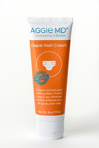 AGGIE MD Diaper Rash Cream I Shea Butter Aloe & Organic Extracts