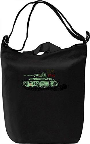 Tank Borsa Giornaliera Canvas Canvas Day Bag  100% Premium Cotton Canvas  DTG Printing 