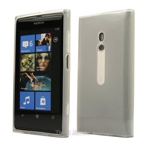 Nokia Lumia 920 Caso Elegante - Transparente S-Line TPU Gel Funda Case Para Nokia Lumia 920 - thinkmobile Glänzend Klar