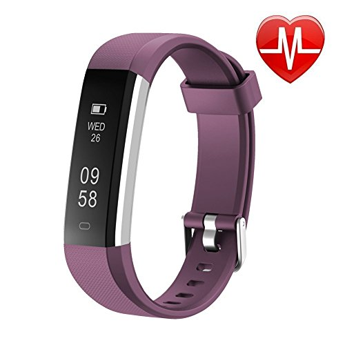 Letsfit Unisex Youth VCQKLF-ID115U PL Tracker HR, Sports Fitness Heart Rate...