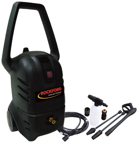 Rockford CPU0204 1,400 PSI 1.4 GPM Electric Pressure Washer by Rockford