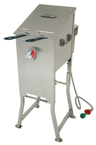 fryer with drain - 2