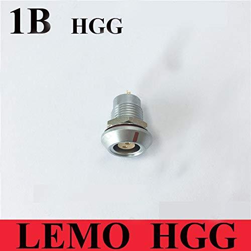 Gimax LEMO HGG M12 1B 2 3 4 5 6 7 8 10 14 16 Pin Waterproof IP68 Connector LEMO HGG.1B.3.CLLP Watertight Female Socket for GPS - (Color: 2 Pin) ()
