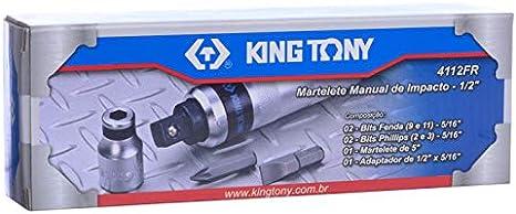 king tony 4112FR Coffret de Tournevis à Frapper et