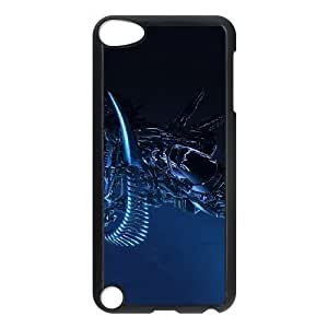 ipod 5 Black Alien phone case Christmas Gifts&Gift Attractive Phone Case HLR500323650