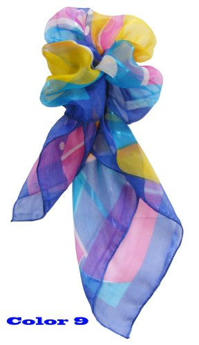 Colorfulworldstore Promotion gifts-Small square chiffon scarfs 50*50cm-10colors
