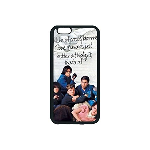 Dominc Custom TPU Iphone 6/6s 4.7 inch Case Breakfast Club Quote Personality Classic Design (Laser Technology)