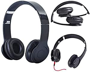 Adjustable 3.5mm Over-Ear Earphone Headphone MP3 MP4 Phone PC