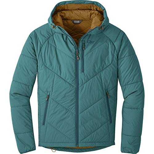Outdoor Hooded Jacket Research Men's Washed Refuge Peacock rxRr1qZw