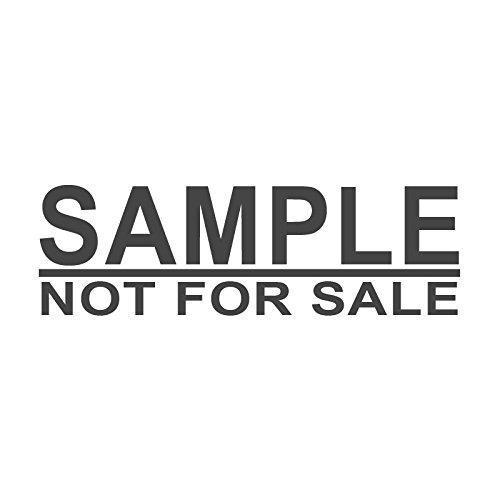 Not For Sale >> Amazon Com Sample Not For Sale Pre Inked Office Rubber Stamp