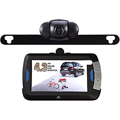 PEAK Digital Wireless Back-Up Camera, Color LCD Monitor, 4.3-inch: Automotive