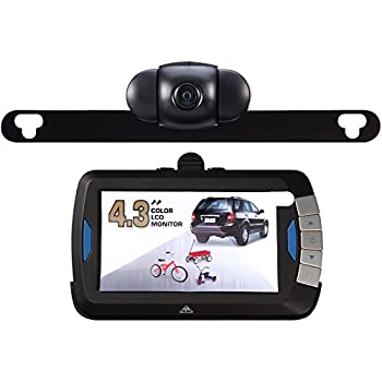 Amazon Com Peak Pkc0bu4 4 3 Inch Wireless Back Up Camera