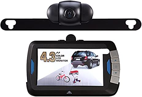 Back Up Cameras >> Amazon Com Peak Pkc0bu4 4 3 Inch Wireless Back Up Camera Automotive