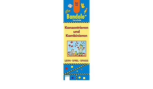 Friederike Barnhusen Bandolino 48 Konzentrieren und Kombinieren
