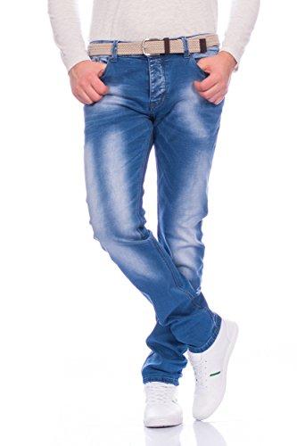 Herren Jeans Slim Fit ID347