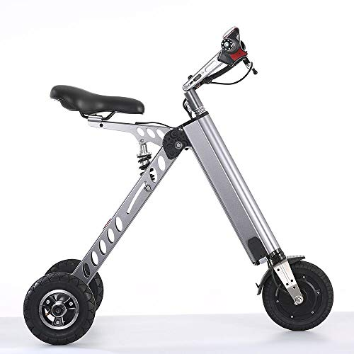 (TopMate ES30 Electric Scooter, Mini Foldable Tricycle With Light Weight 13KG,Speed 20KM/H, Full Charge 35KM Range,Suitable for Travel and Leisure Activities,Easy To Be Placed In The Trunk)