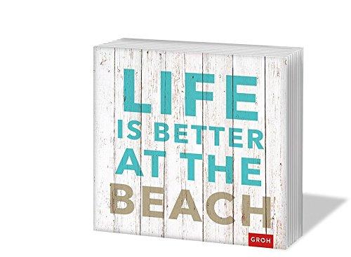 Life is better at the beach: Servietten (Geschenkewelt Life is better at the beach)