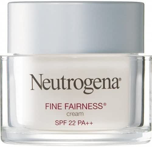 Neutrogena Fine Fairness Day Brightening Cream SPF 22 Pa++(all Skin Type) 50 g. (suputra shop)