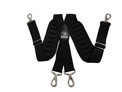 TradeGear Suspenders 207019 Heavy-Duty And Durable Adjustable Tool Belt Suspenders With Pro Comfort Padding Partnered with Gatorback Contractor Pro by TradeGear (Image #3)