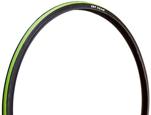 CST Czar Comp Road Tire, Green/Black, 700cm x 23