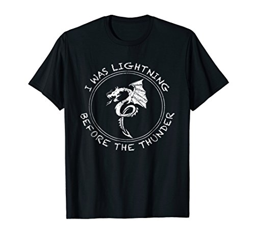 Dragon Thunder Shirt - White Dragon T ()