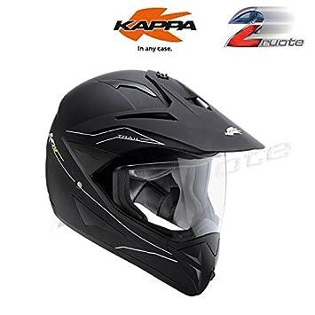 Casco Kv10 Trail Negro Mate Motard-Enduro Kappa L negro mate