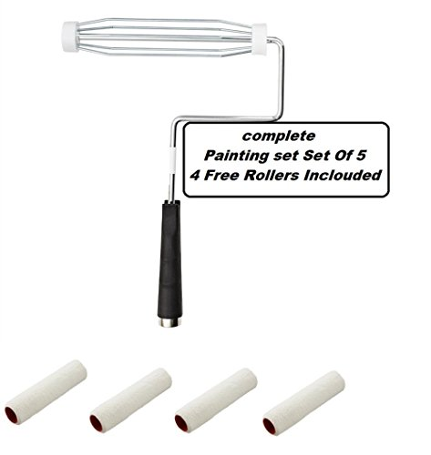 paint-roller-5-wire-cage-3-9-inch-roller-covers-for-any-professional-paint-job-oil-stain-watercolor-