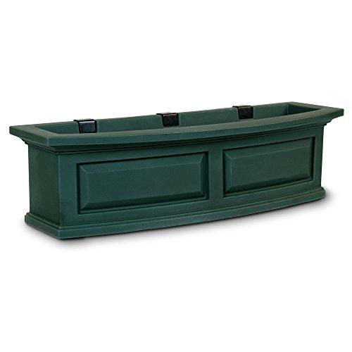 Mayne 4830-G Polyethylene Window Box, Green