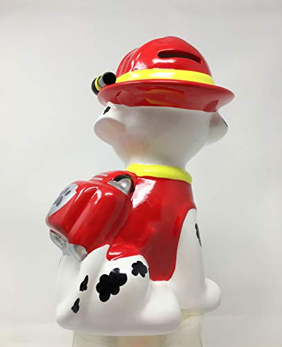 Paw Patrol Marshall Ceramic Coin Bank by Paw Patrol (Image #3)