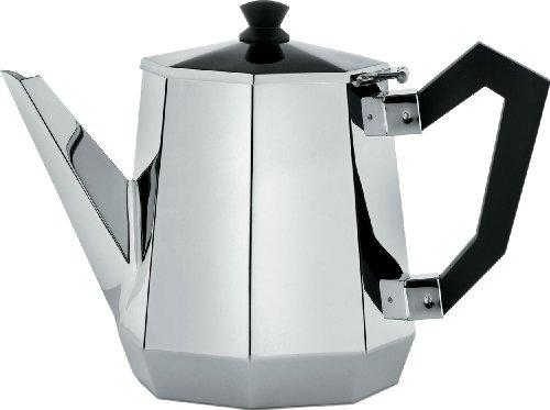Alessi CA112 Ottagonale Teapot, Black by Alessi